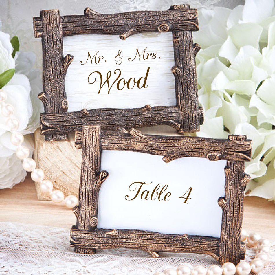 Wood Design Frame Favors [328-6586 Wood Frame Favors] : Wholesale ...