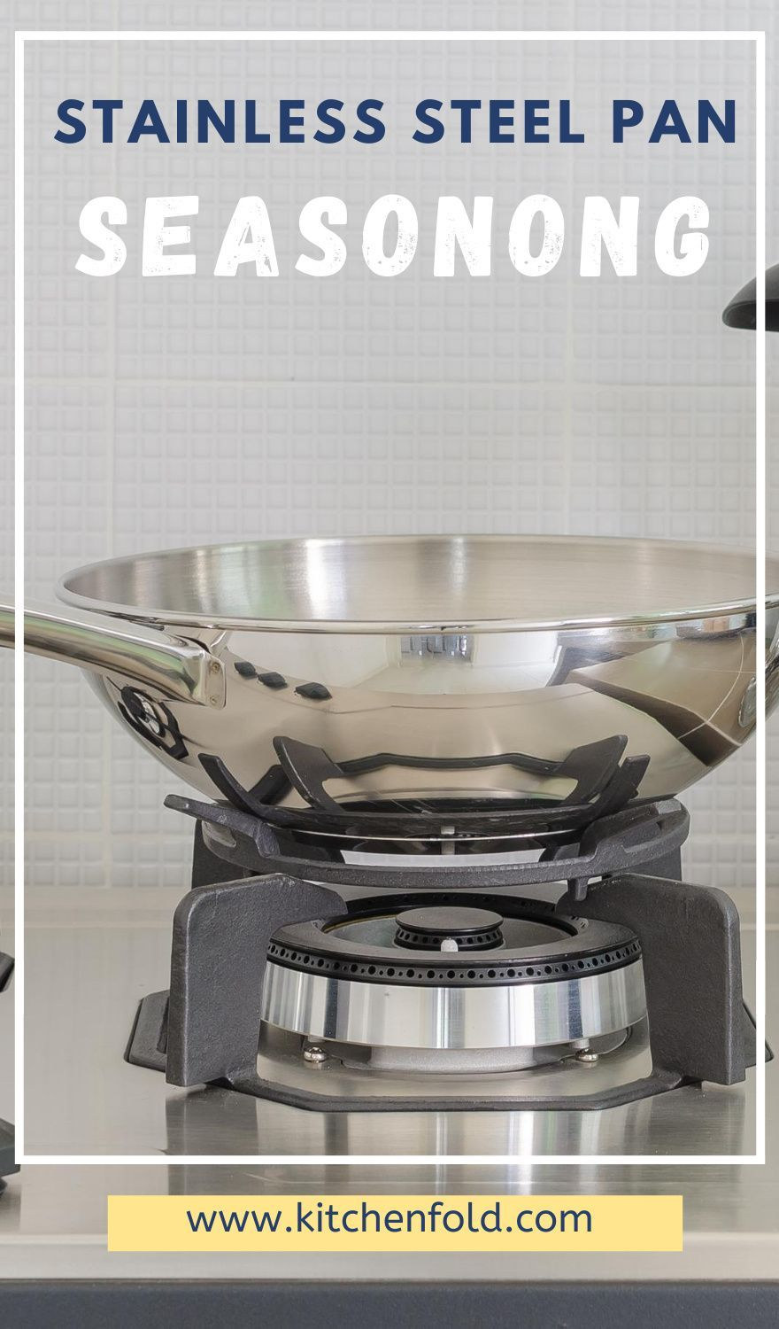 How To Use A Stainless Steel Pan Seasoning Cooking And Cleaning Explained Kitch Stainless Steel Pans Cookware Set Stainless Steel Stainless Steel Cookware