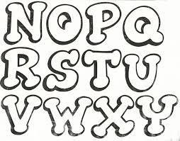 Resultado de imagen para moldes letras disney para imprimir