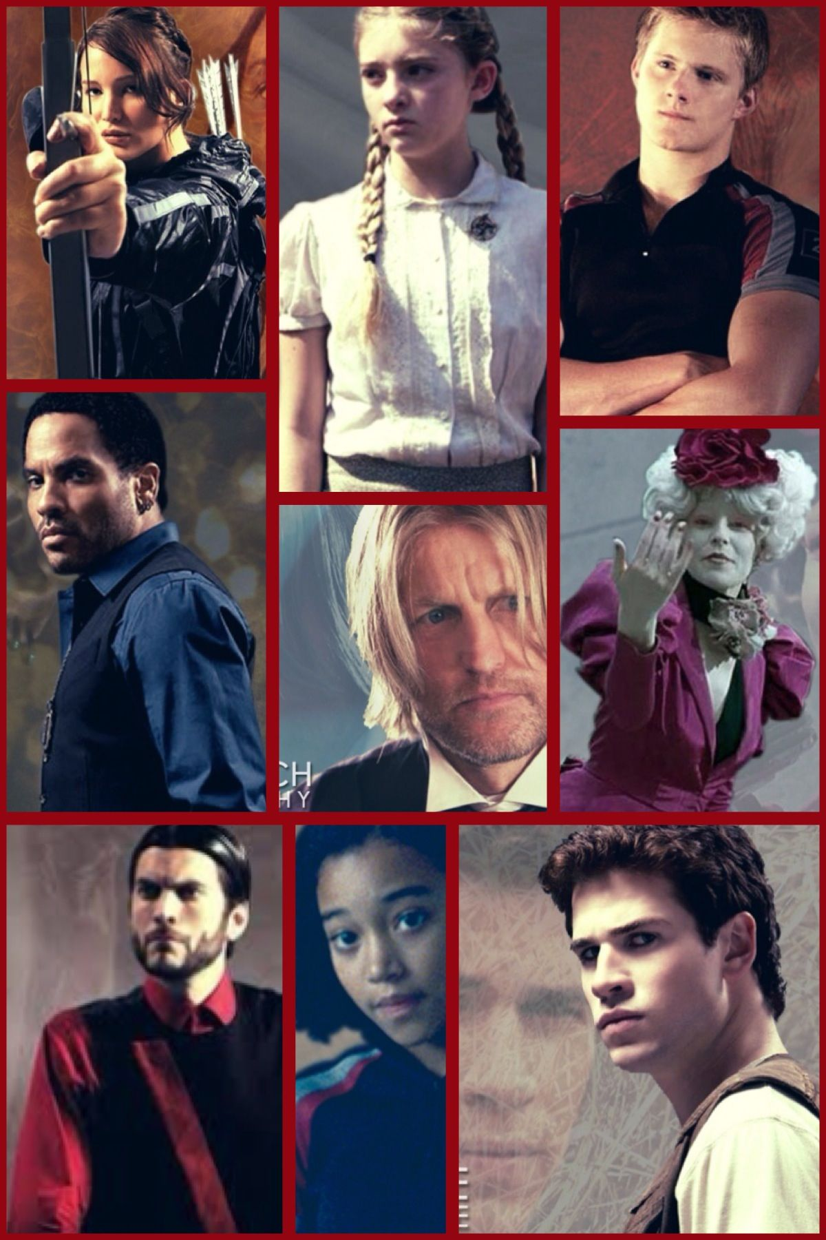 Hunger Game Characters Hunger Games Characters Hunger Games