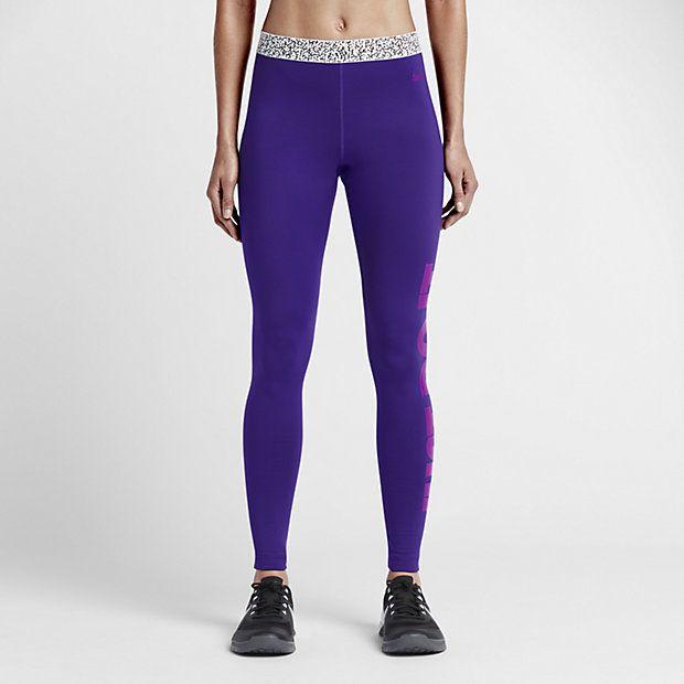 55a5551fbc9e Damskie legginsy treningowe Nike Pro Warm Mezzo Waistband
