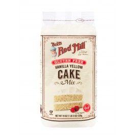 Gluten Free Vanilla Cake Mix