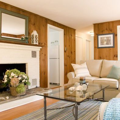Living Room Knotty Pine Paneling Ideas Design Pictures