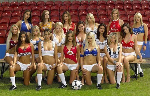 The Sexiest Football Team | Soccer girl, Sports costume, Funny ...