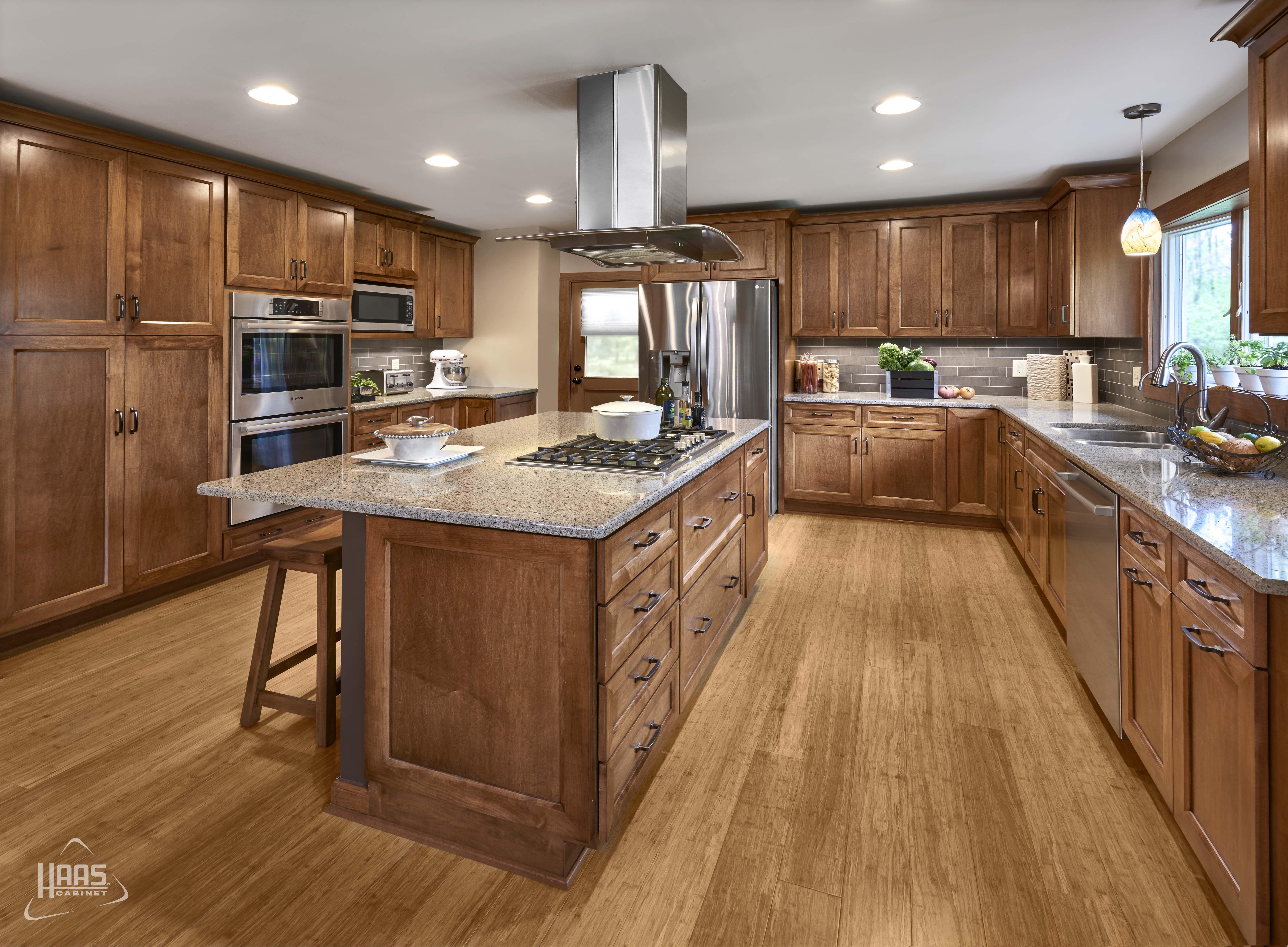 door style soho wood species maple finish pecan haascabinet maple kitchen cabinets oak on farmhouse kitchen maple cabinets id=20952
