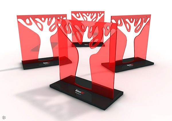 Design And Production Project For Bank Bic Golf Tournament Trophy S Trophy Design Speculative Design Trophy