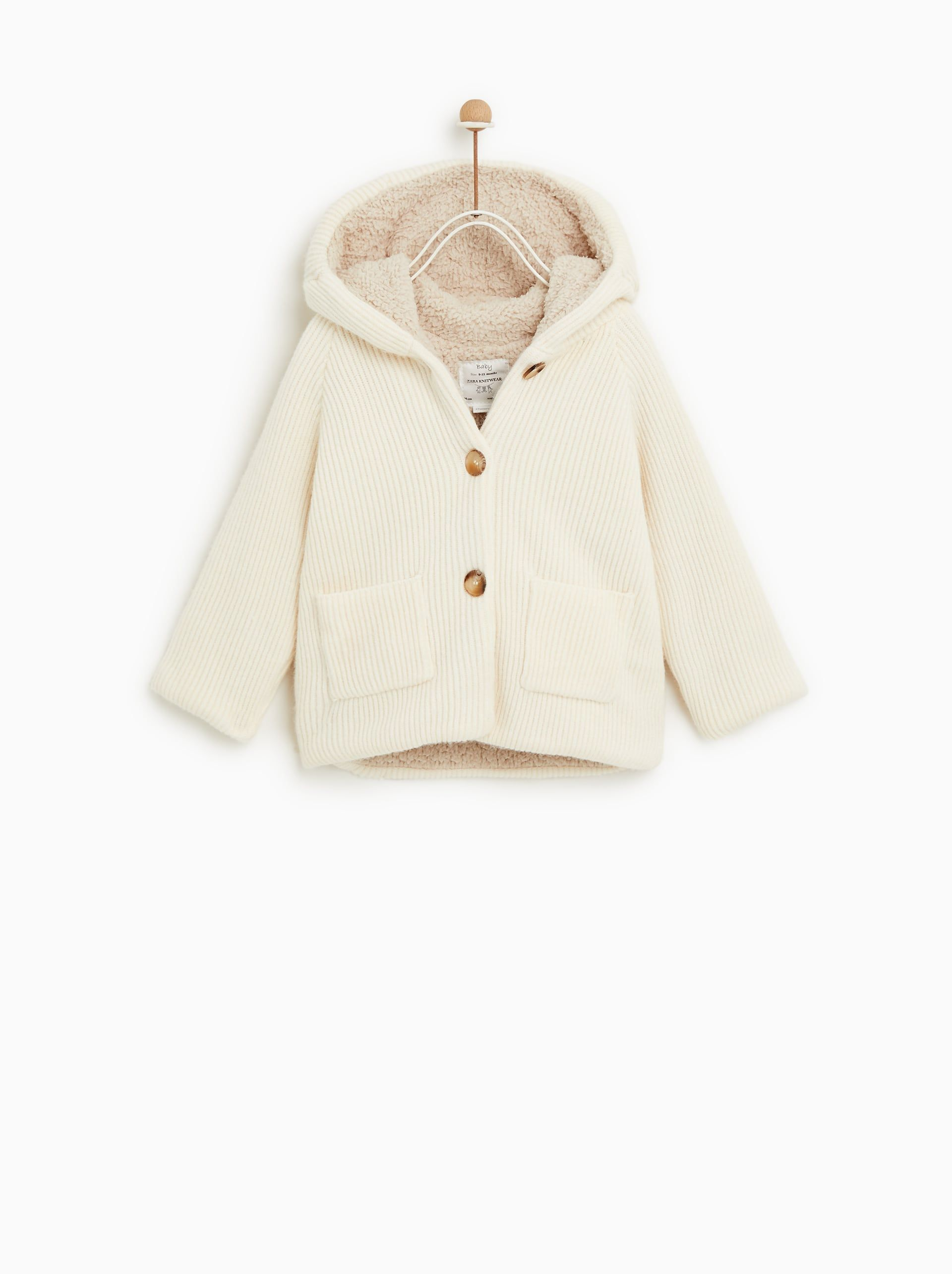 392805503 Image 2 of JACKET WITH EARS from Zara