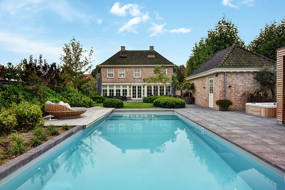 Outdoor swimming pool by vsb wellness buitenzwembad swimming