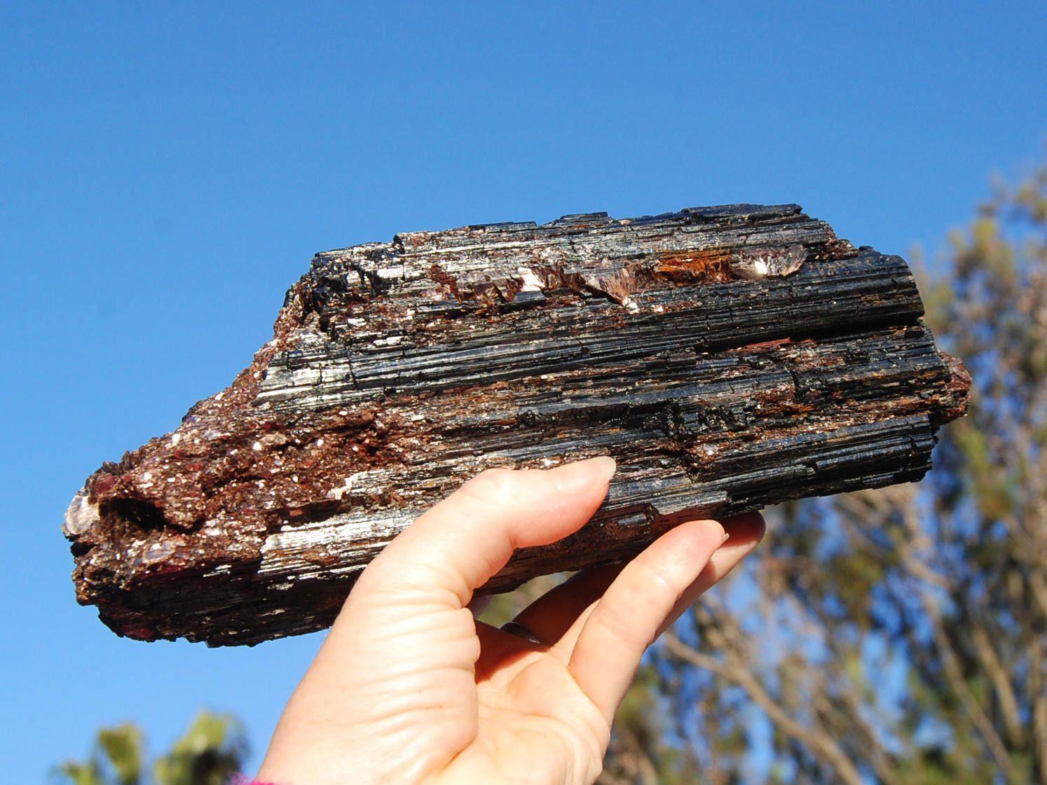 Black Tourmaline Crystal Black Tourmaline Healing Properties