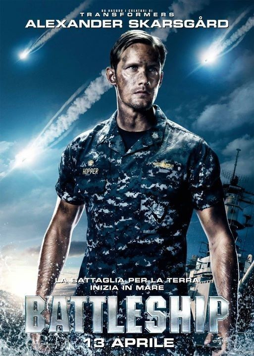 Poster Con Alexander Skarsgard In Battleship Poster Online