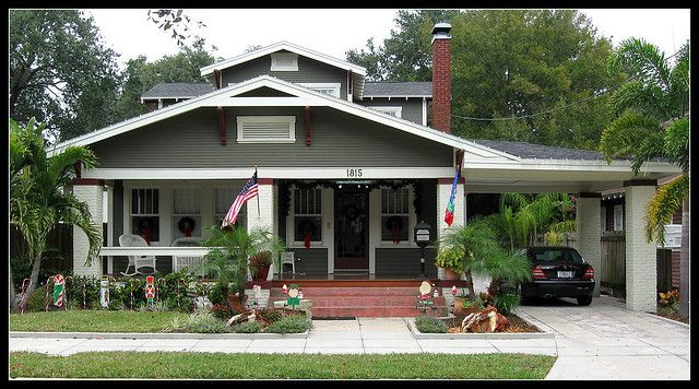 Boozhy Bungalow With Port Cochere Craftsman House Craftsman House Plans Bungalow Exterior