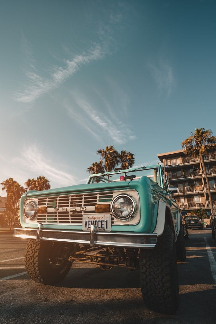 Teal Pickup Truck Classic Car Photography Iphone Wallpaper Vintage Ipad Wallpaper
