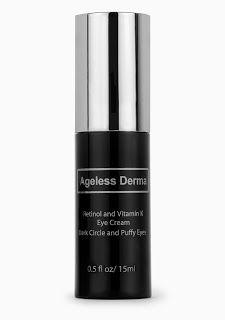 Ageless Derma S Vitamin K And Retinol Eye Cream Review With