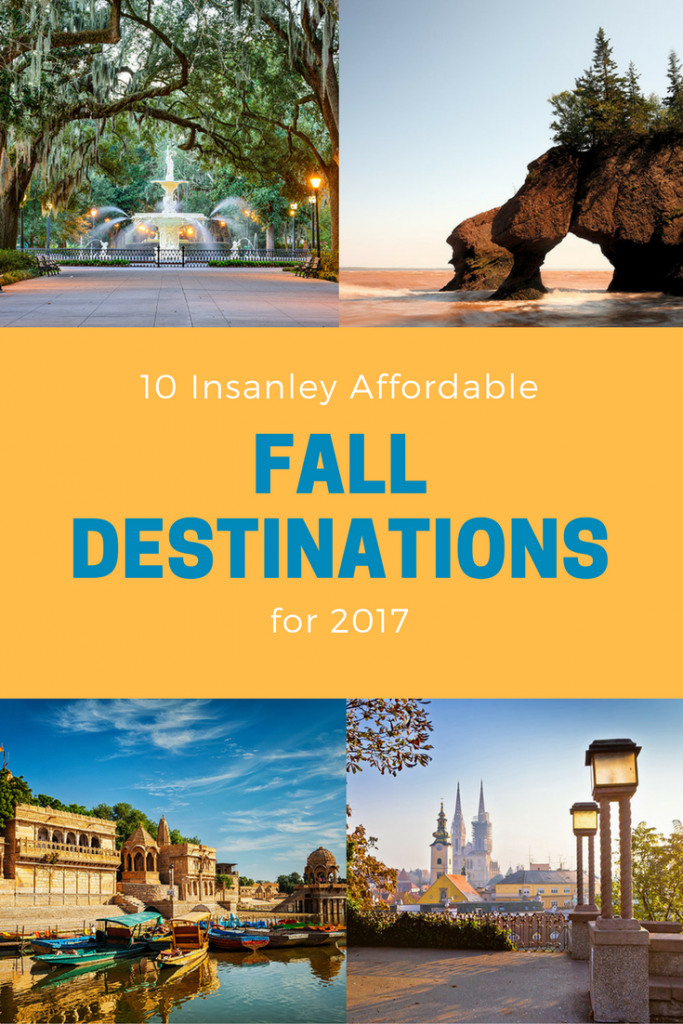 Insanely Affordable Fall Destinations For Destinations - 10 great budget vacation destinations