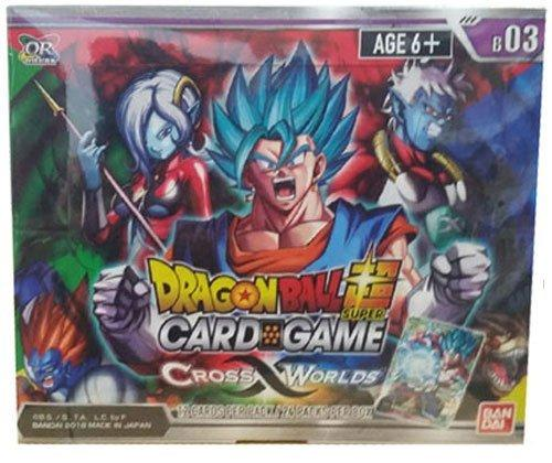 Dragon-Ball Super Card Game B03 Z Cross Worlds Sealed Booster Box of 24 Packs