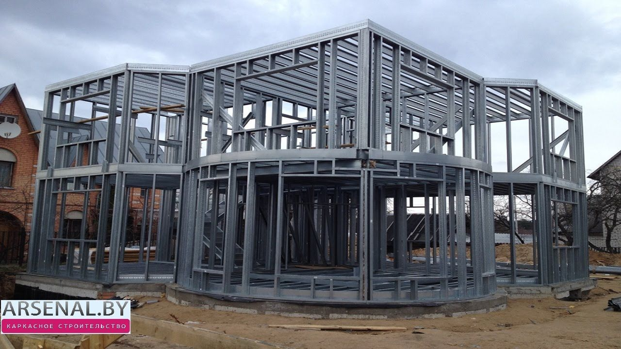 Лёгкие стальные тонкостенные конструкции в Беларуси