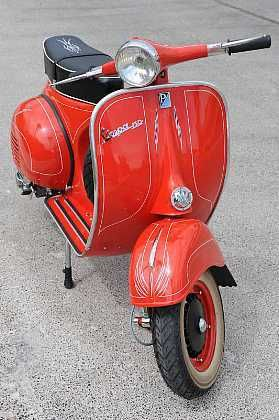 Just Stab Me In The Chest 1962 Italian Vespa Scooter 150cc