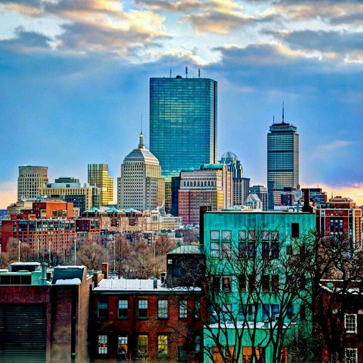 Boston Skyline From Suffolk University Boston Skyline College Visit Suffolk University