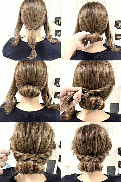 15 Cute Hairstyles That Are Extremely Easy To Do - Bafbouf -   9 hairstyles Long step by step ideas