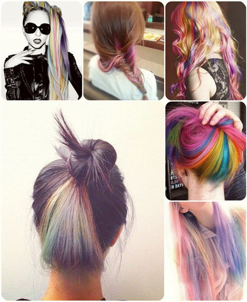 Easy And Best 10 Dip Dye Ombre Color Hair Ideas Without Bleach At Home Dip Dye Hair Dye My Hair Hair