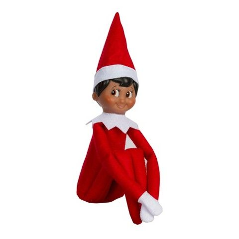 The Elf On The Shelf A Christmas Tradition With Dark Skin Tone