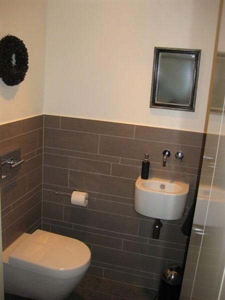 Sfeervolle moderne toiletruimte