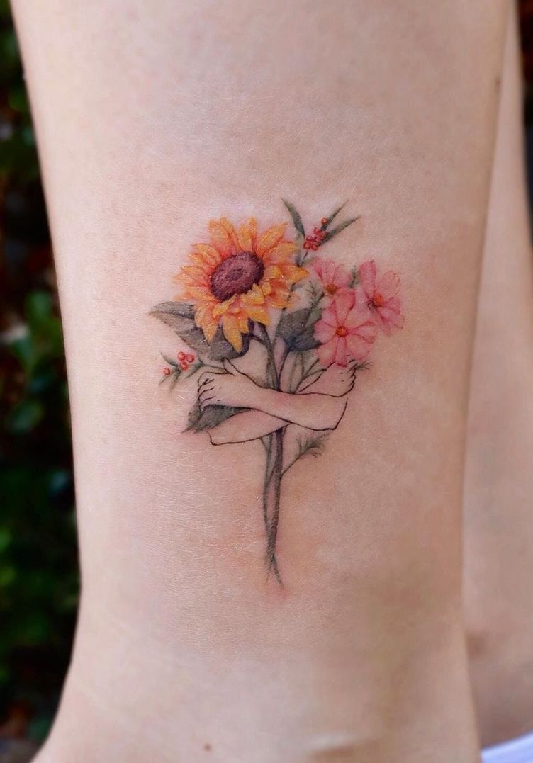 Celebrate the Beauty of Nature with these Inspirational Sunflower Tatt