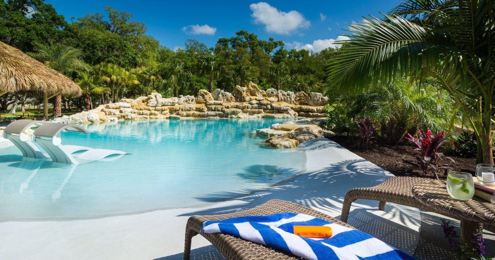 What S Up Dock Sarasota Custom Pool Tropical Lagoon Style Insane Pools Backyard Pool Dream Pools