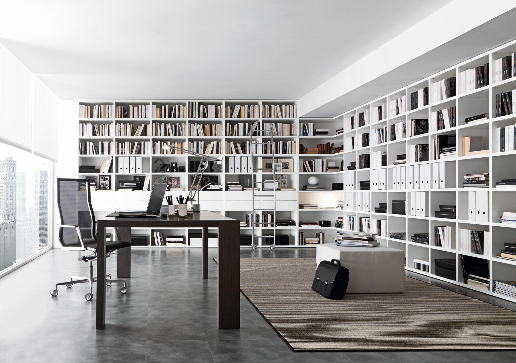 Pari & Dispari Bücherschränke von Presotto | Regale | bibliothek ...