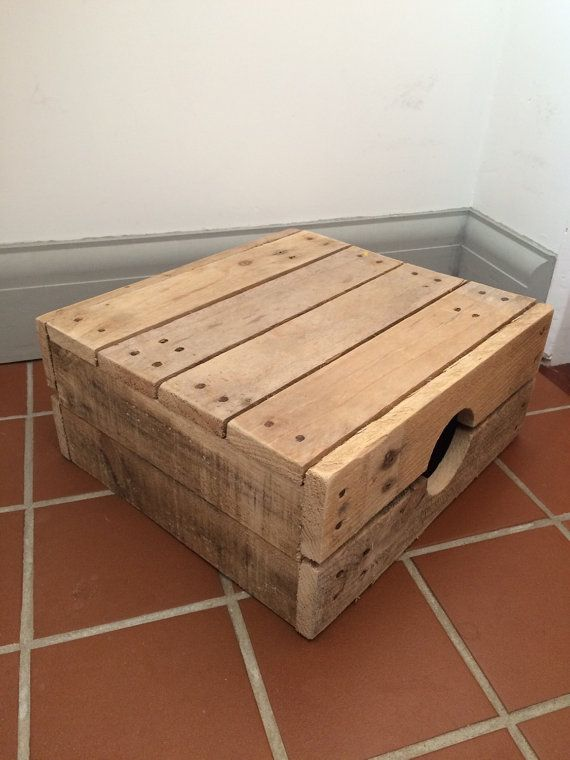 Child 39 S Step Stool Made From Reclaimed Pallet Wood Wood Pallets Reclaimed Pallet Wood Wood