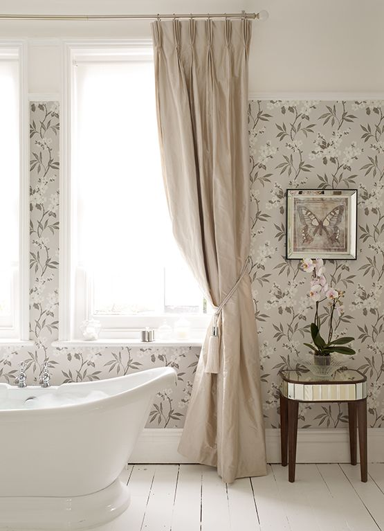 From The Laura Ashley Kyoto Collection Walls Wallpaper