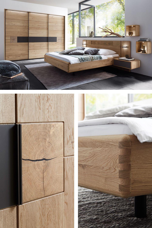 WSM 16 Wöstmann Schlafzimmer-Möbel Wildeiche  Möbel Letz - Ihr