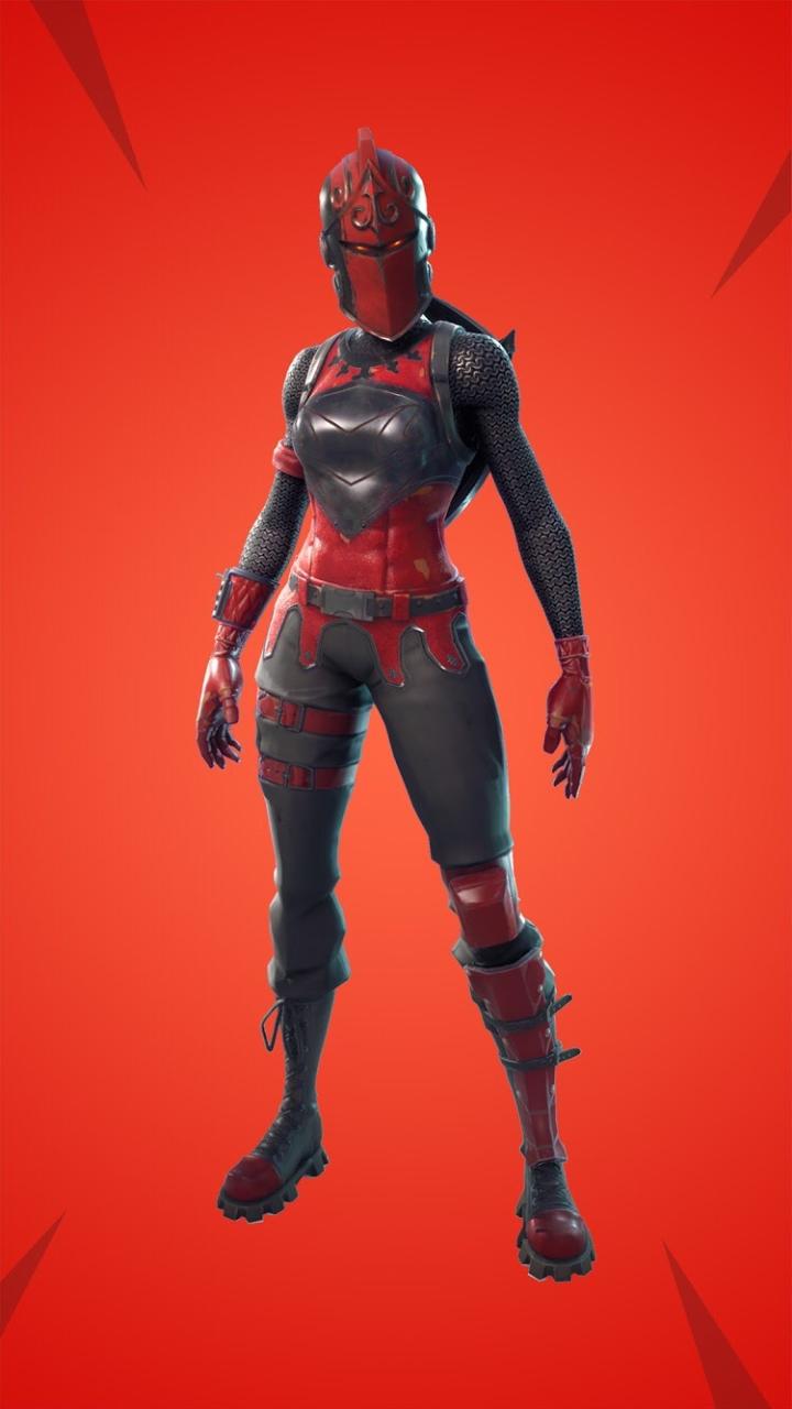 Dama Roja Chica Zombie Fotos De Gamers Fortnite Personajes