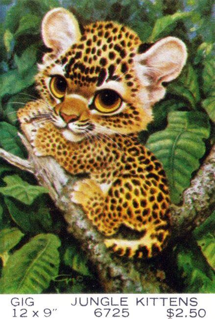 artist-gig-pity-puppy-kitty-02 | Animated animals, Keane ...