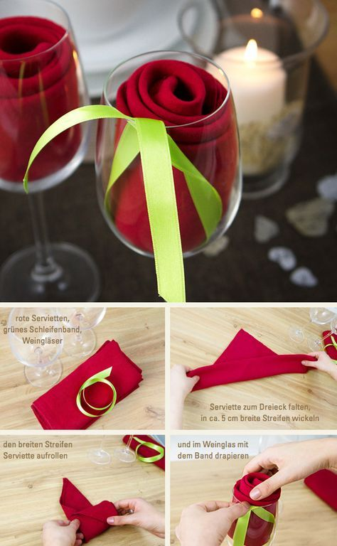 Photo of Napkins Roses