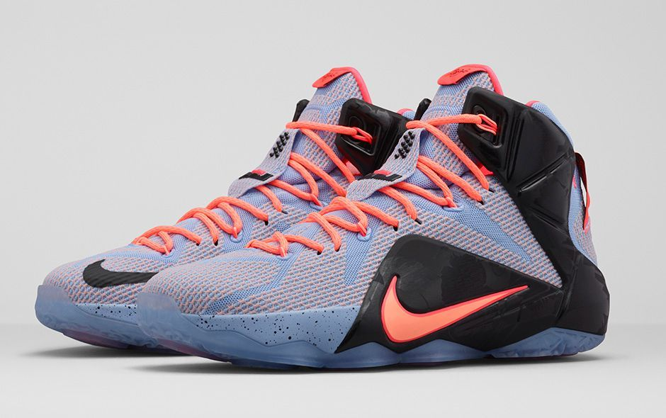 """Black · This """"Easter"""" variation of the Nike LeBron 12 ..."""