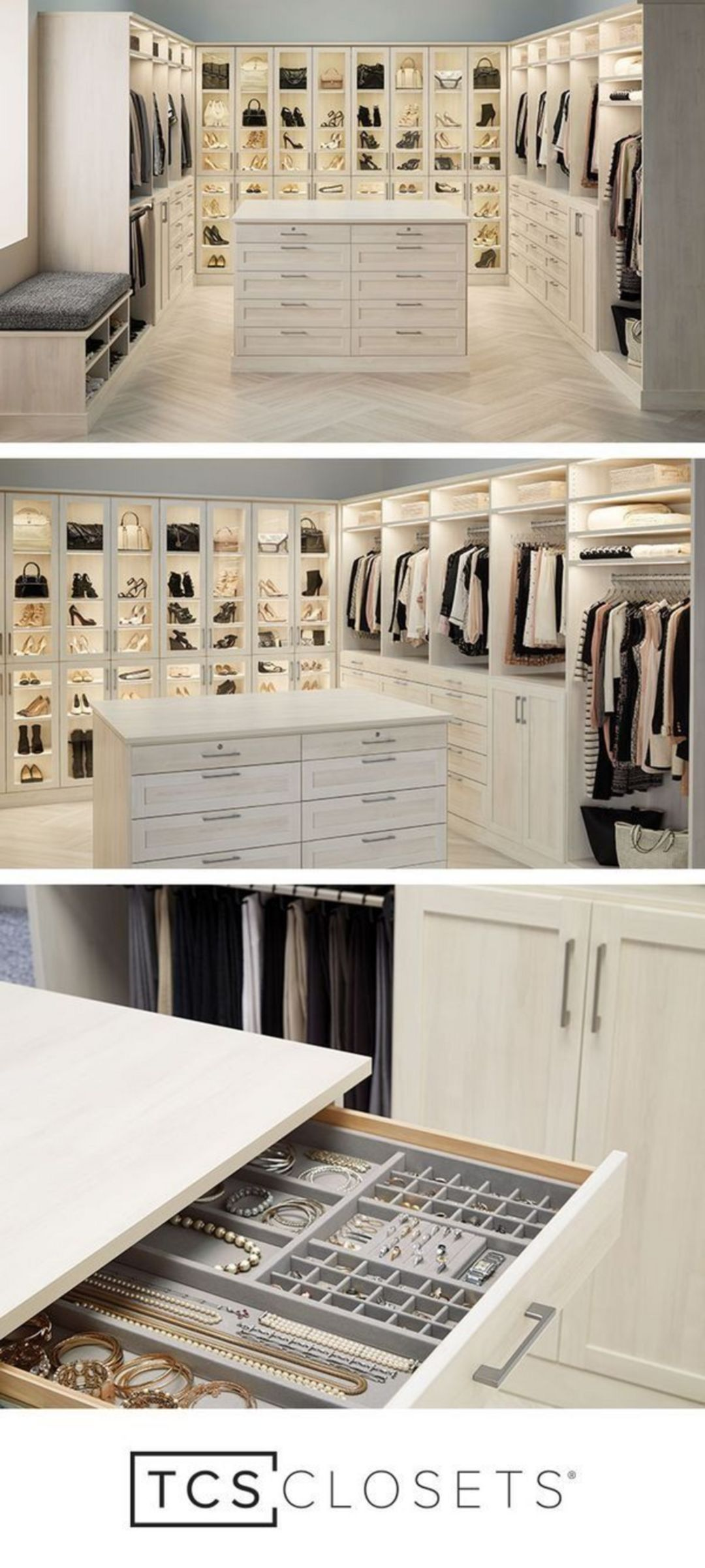 20 Stunning Closet Room Design Ideas For Beautiful Storage #dreamclosets