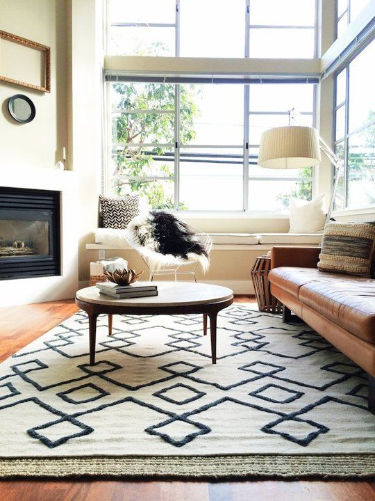 How To Choose The Right Rug For Every Room Rugs In Living Room Apartment Decor Living Room Designs