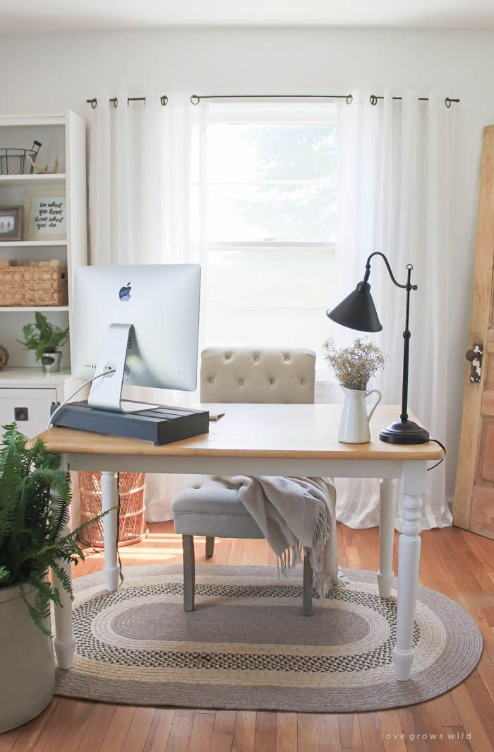 how to hide desk cords at home office