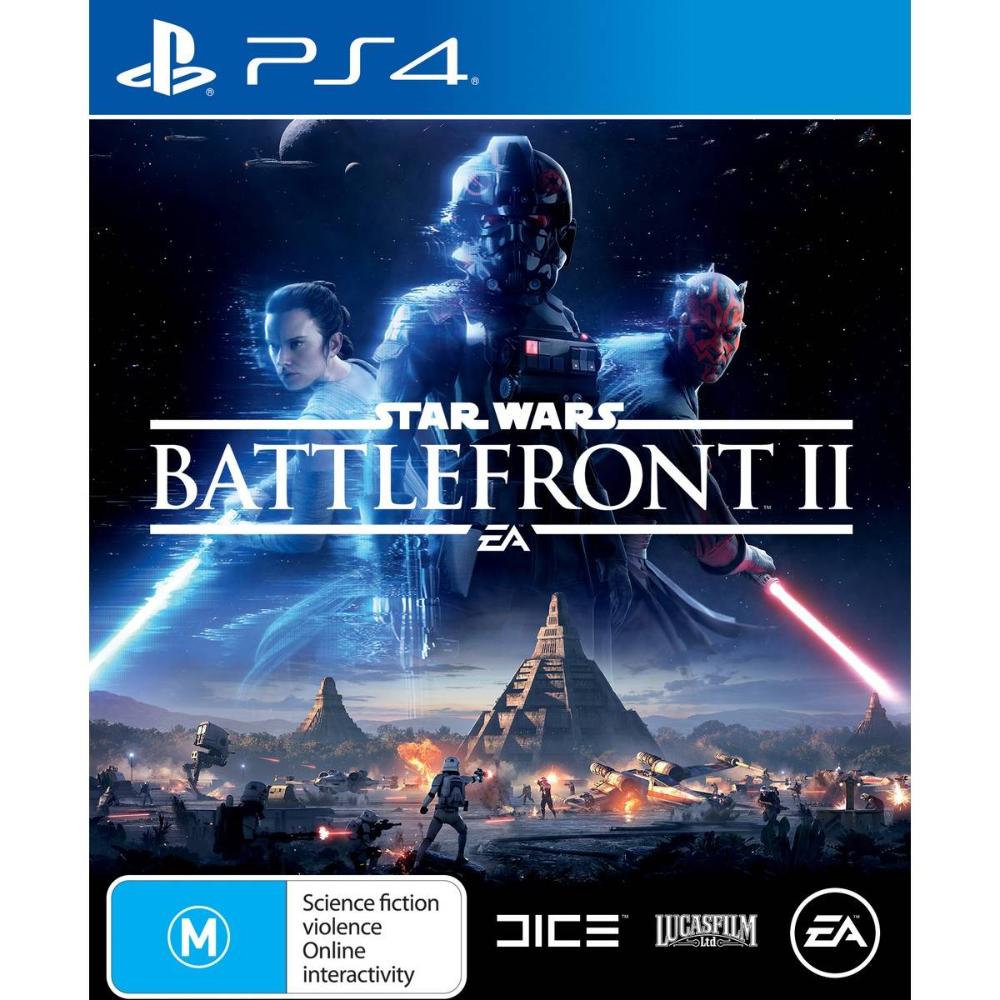 Star Wars Battlefront Ii Standard Edition Playstation 4 Big W Star Wars Battlefront Battlefront Starwars Battlefront