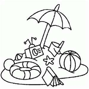 Summer Beach Coloring Pages Yahoo Image Search Results Designs Coloring Books Beach Coloring Pages Summer Coloring Pages