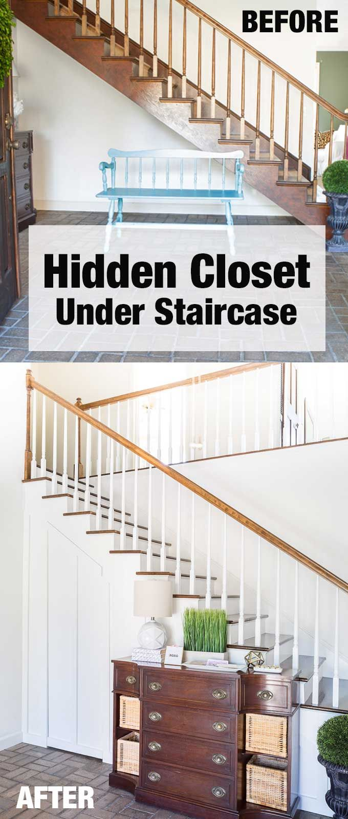 Best How To Add A Closet With A Hidden Door Under A Staircase 400 x 300