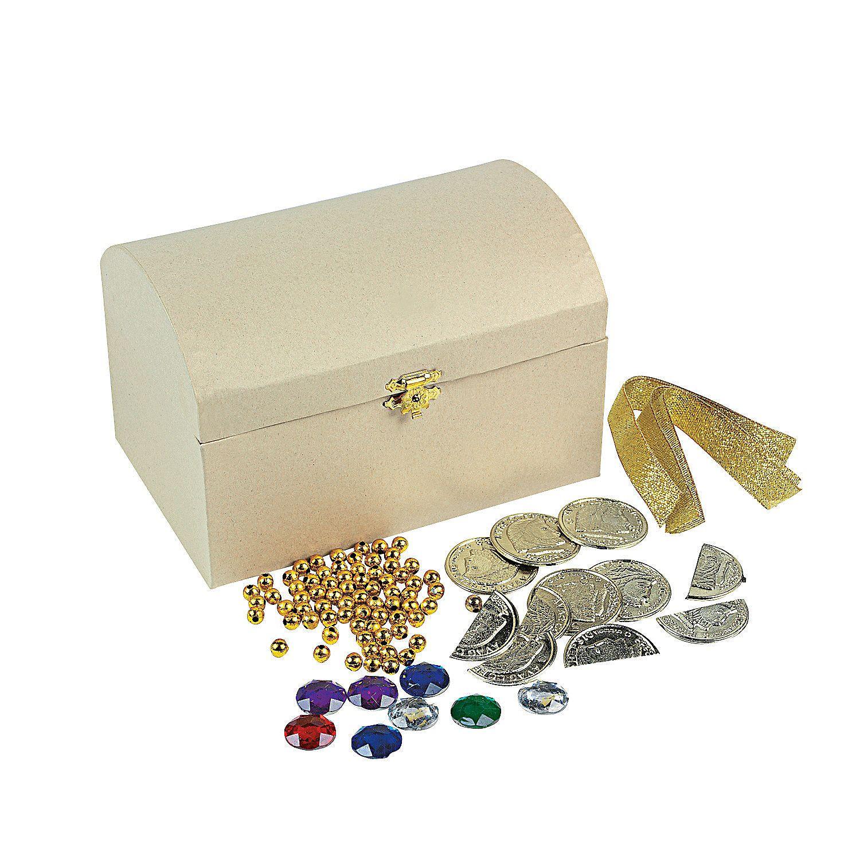 Treasure Chest Craft Kit Treasure chest craft, Craft
