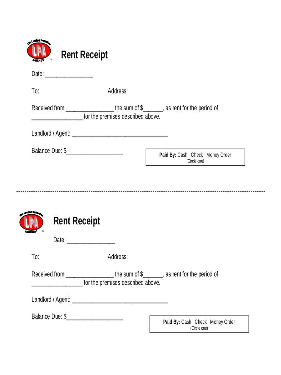 Sample Official Receipt