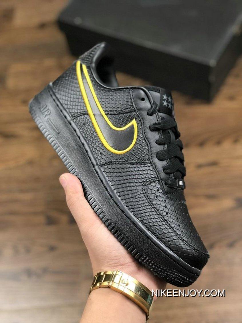2020 的 Nike Air Force 1 Low Premium NikeId Black Mamba