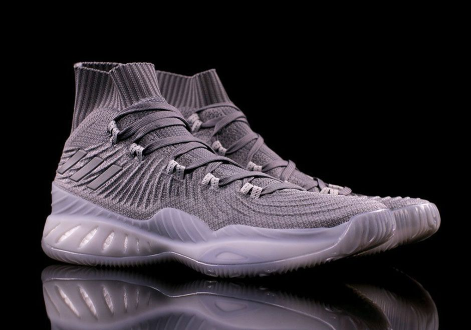 "huge discount 73234 f5043 sneakers news The adidas Crazy Explosive Primeknit 17 Appears In ""Triple  Grey"""