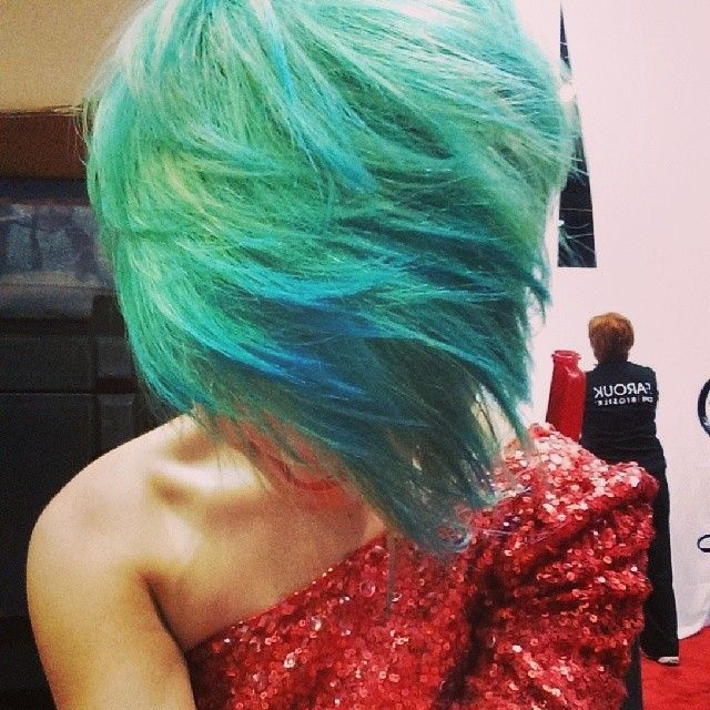 Mermaid hair! #CHIcolor #Chromashine #CHITopPin   Color ...