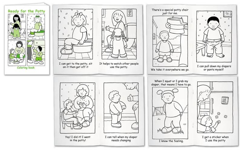 toilet training coloring pages - photo#30