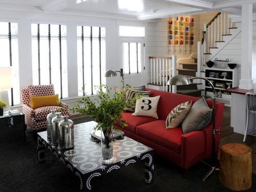 You Searched For Red Spices Up New Hgtv Green Home Living Room