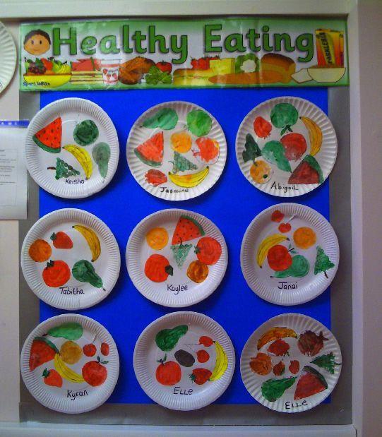 Healthy Eating classroom display photo - Photo gallery - SparkleBox #healthyfoodpreschool